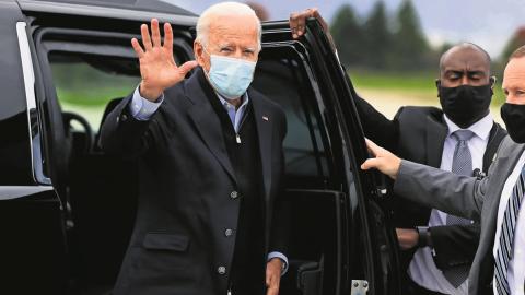 Joe Biden espera que este año voten más personas en la historia de EU