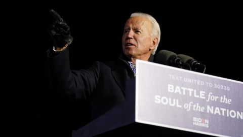 VIDEO: Estamos en camino de ganar la elección: Biden