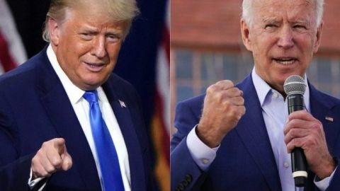 Trump y Biden proclaman triunfo