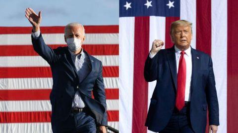 ¿Quién va ganando las elecciones de EEUU en los estados clave?