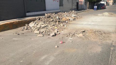 La Cespt no recoge su cochinero: vecinos de colonia 18 de Marzo