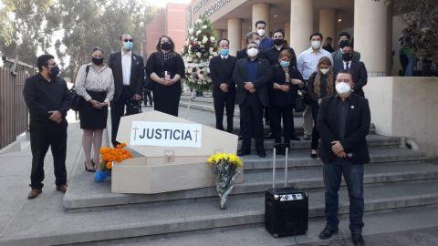 La justicia ha muerto dicen abogados de Tijuana