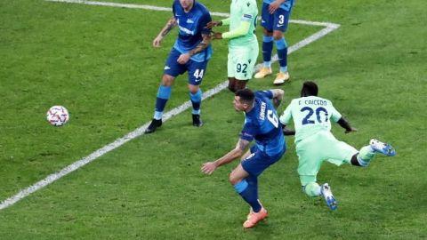 Caicedo salva un punto para el Lazio