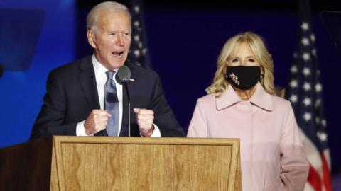 Creemos que seremos los ganadores al terminar el recuento: Biden