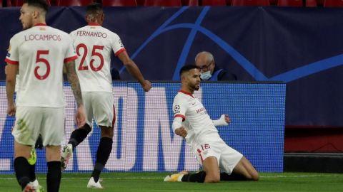 En-Nerysi le da una épica victoria a un Sevilla en inferioridad