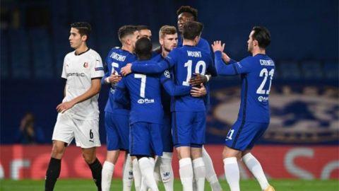El Chelsea liquida a un Rennes en inferioridad