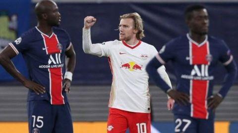 El Leipzig se impone y complica al PSG