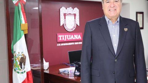 Arturo González Cruz regresó hoy como presidente municipal de Tijuana