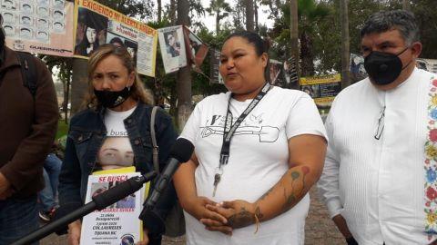 Familiares de desaparecidos exigen apoyo del Gobernador Jaime Bonilla