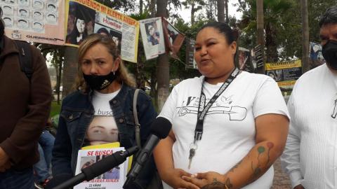 Familiares de desaparecidos se sienten discriminados