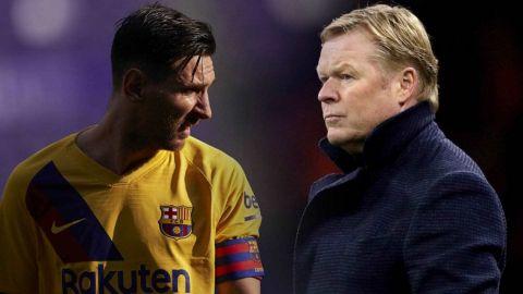 Koeman defiende a Messi tras la imagen polémica