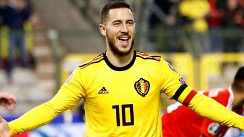 Bélgica llama a Hazard y Courtois para Fecha FIFA