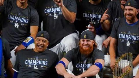Cinco miembros de los Dodgers dan positivo a Covid-19