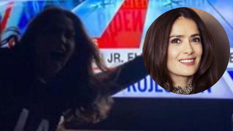 Salma Hayek y Lady Gaga estallan de felicidad por la victoria de Joe Biden