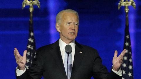 Biden dice que EE.UU. ha hablado y le ha dado una victoria clara y convincente