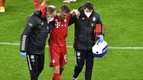 Bayern pierde a Kimmich hasta enero tras cirugía de rodilla