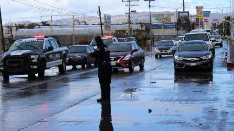 Sin incidentes por lluvias en Ensenada