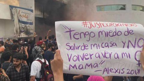 ONU-DH condena represión a protesta feminista en Cancún