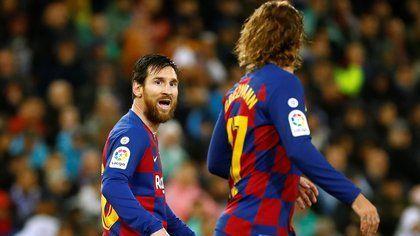 Lionel Messi es el régimen del terror en Barcelona, revela mentor de Griezmann