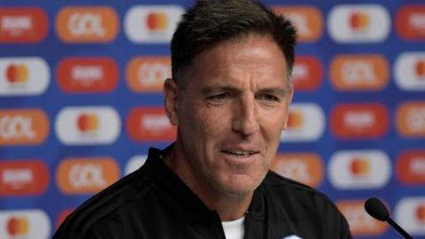 "Berizzo, optimista frente a Argentina, pero admite que les ""tocará sufrir"""