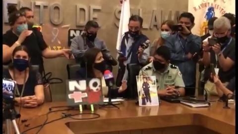 Asesinato de periodista, fue su culpa, asume alcaldesa de Salamanca