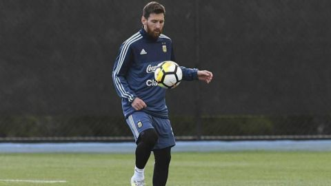 Messi está apto para dos partidos de Argentina en eliminatoria al Mundial 2022