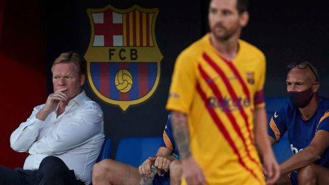 """Barcelona siempre será mejor con """"ambicioso"""" Messi que sin él: Koeman"""