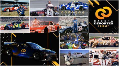 CADENA DEPORTES PODCAST: Recordamos a los mejores pilotos de NASCAR