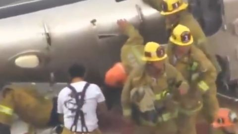 VIDEO: Helicóptero se estrella mientras transportaba corazón de donante