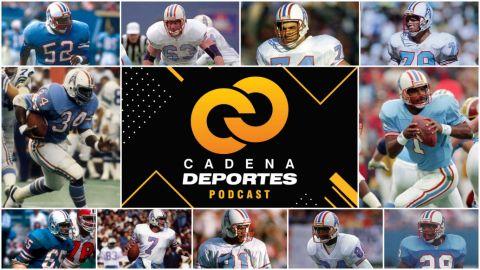 CADENA DEPORTES PODCAST: Los mejores jugadores de los Houston Oilers