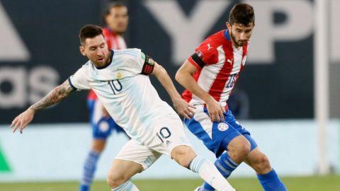 Argentina no puede con Paraguay y empata en Buenos Aires