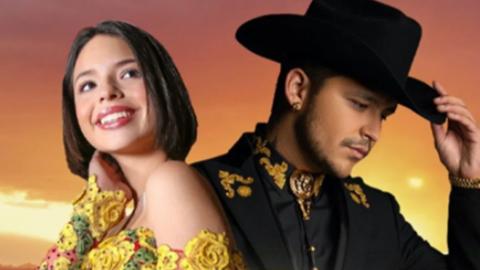 Christian Nodal le canta al desamor junto a Ángela Aguilar