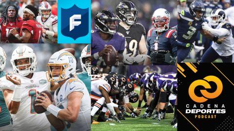 CADENA DEPORTES PODCAST Semana 10 de la NFL: Episodio 100, hablando del Fantasy
