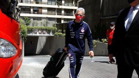 La selección chilena viaja a Caracas para enfrentar a su par de Venezuela