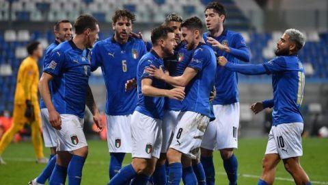 Italia superó varias ausencias para ganar en la Nations League