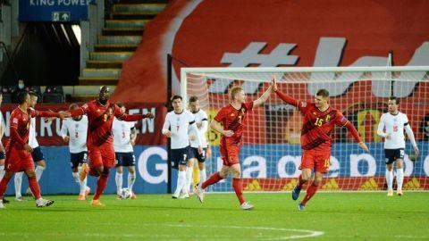 Bélgica vence a Inglaterra con goles tempraneros