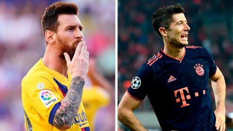 Lewandowski se impone a Messi en el premio del WFS al mejor jugador del año