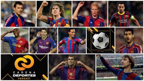 CADENA DEPORTES PODCAST: Los mejores jugadores del Barcelona, después de Messi