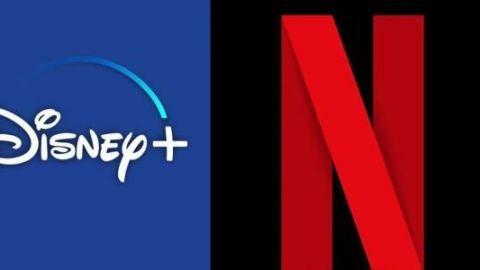 ''Parecen novios'': reaccionan a mensajes entre Netflix y Disney+