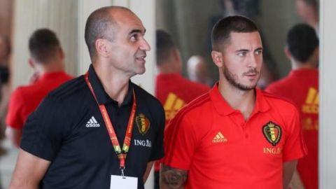 """Roberto Martínez: """"El 2021 va a ser un gran año para Eden Hazard"""""""