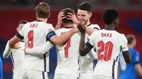 Inglaterra se resarce ante Islandia