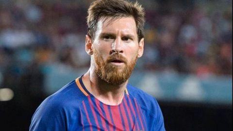 Hacienda cuestiona a Messi en su llegada a Barcelona