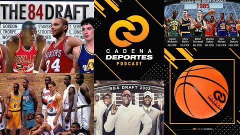 CADENA DEPORTES PODCAST: Los mejores Drafts de la NBA