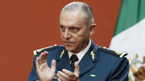 General Cienfuegos ya se encuentra en México