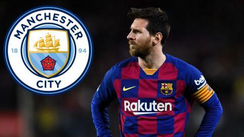 Manchester City va por Messi