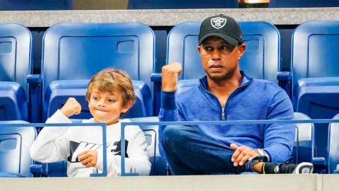 Tiger Woods competirá en torneo con su hijo