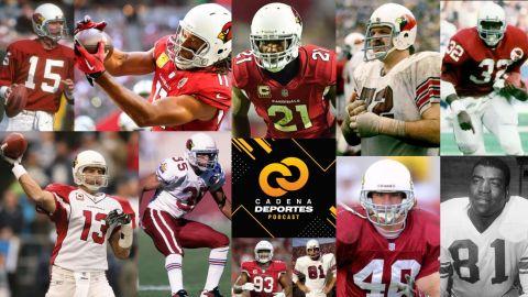 CADENA DEPORTES PODCAST: Los Arizona Cardinals y sus emblemáticos jugadores