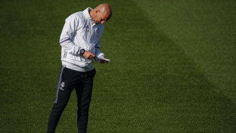 Zidane dice que el calendario de los equipos importantes de Europa es una locura
