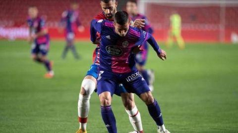 El Valladolid sale del descenso a costa de un Granada muy blando