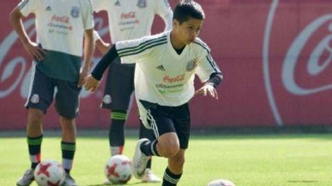 Juvenil mexicano ha firmado con el Galaxy pero podría emigrar a Manchester